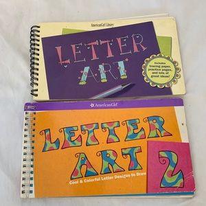 American Girl Letter Art Books